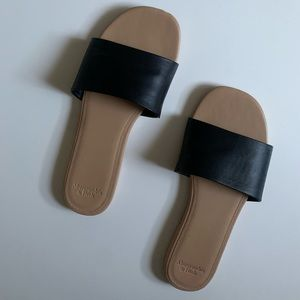 Abercrombie and Fitch Slides